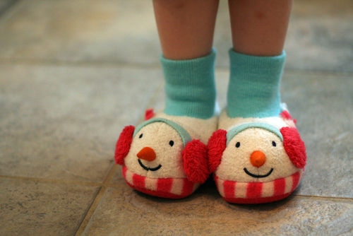 Kate's slippers
