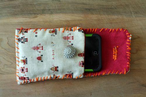 Gadget pouch inside