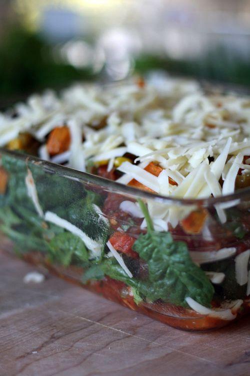 Roasted veggie enchiladas