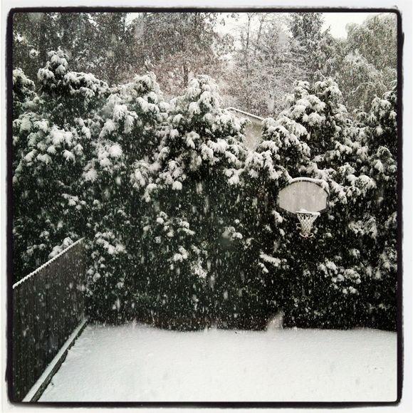 Hello snow??
